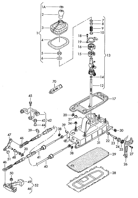 Volkswagen Jetta Relay lever. REVERSE LEVER. CBUA, CBTA