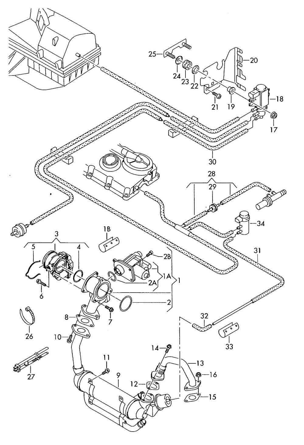 medium resolution of  here s a schematic for the egr system on the brm