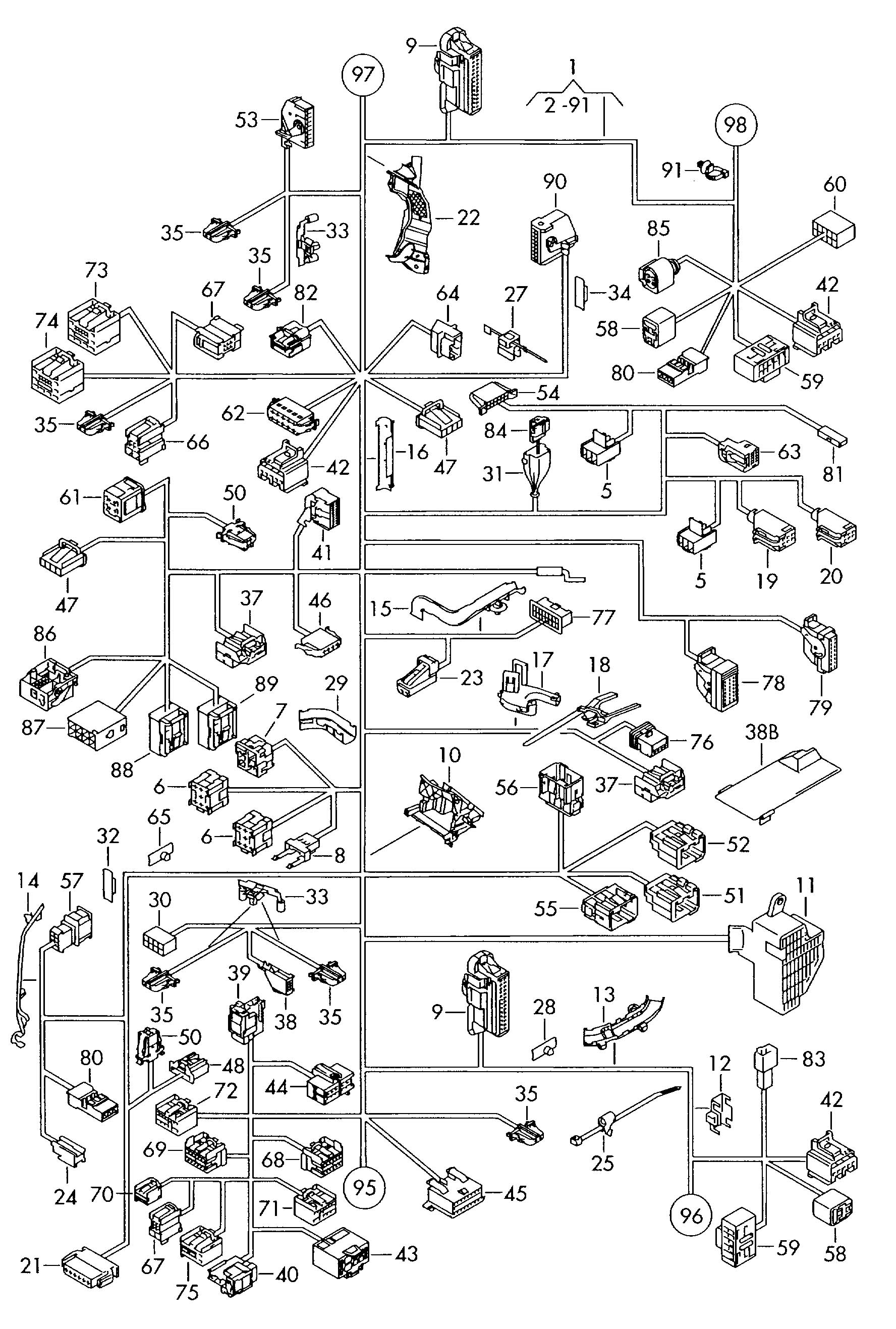 Rabbit Wiring Harness Wiring Diagram Motorcycle