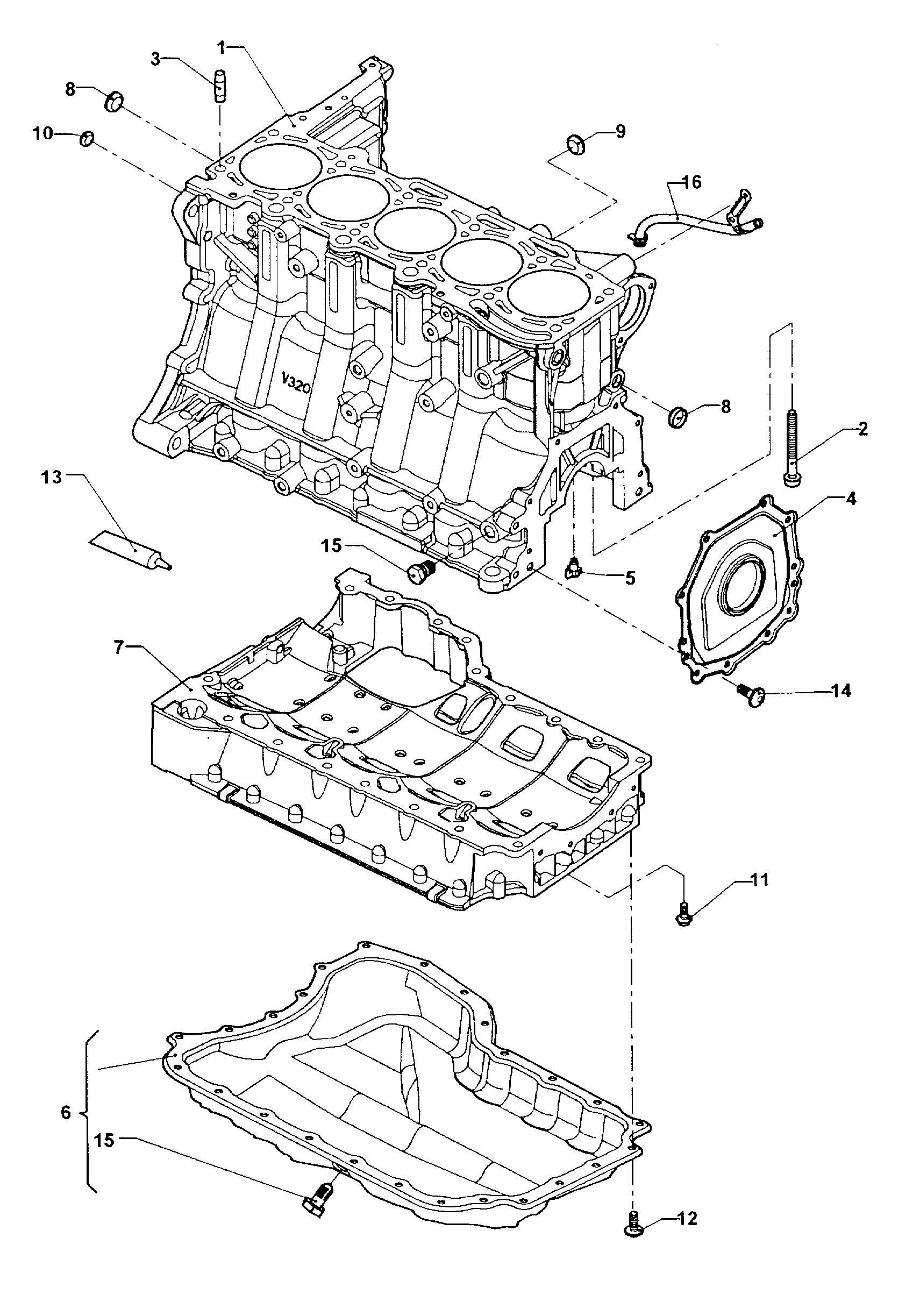 Volkswagen Jetta 1 9l Tdi Sealing Flange