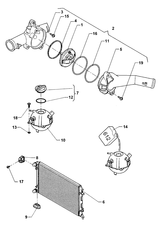 Volkswagen New Beetle Adapter Connector Adaptor