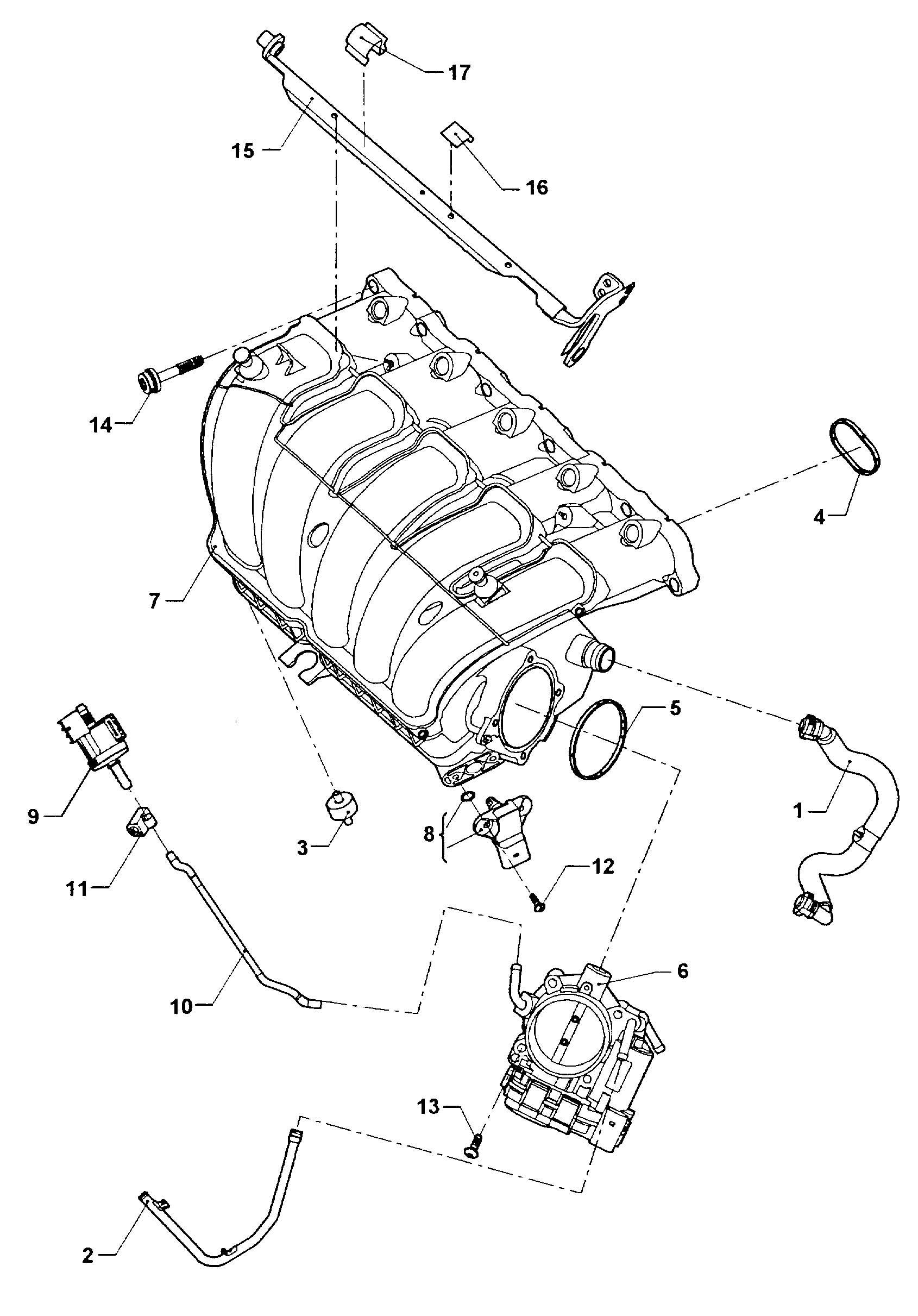 Volkswagen Gti 2 0l Throttle Valve Control Unit