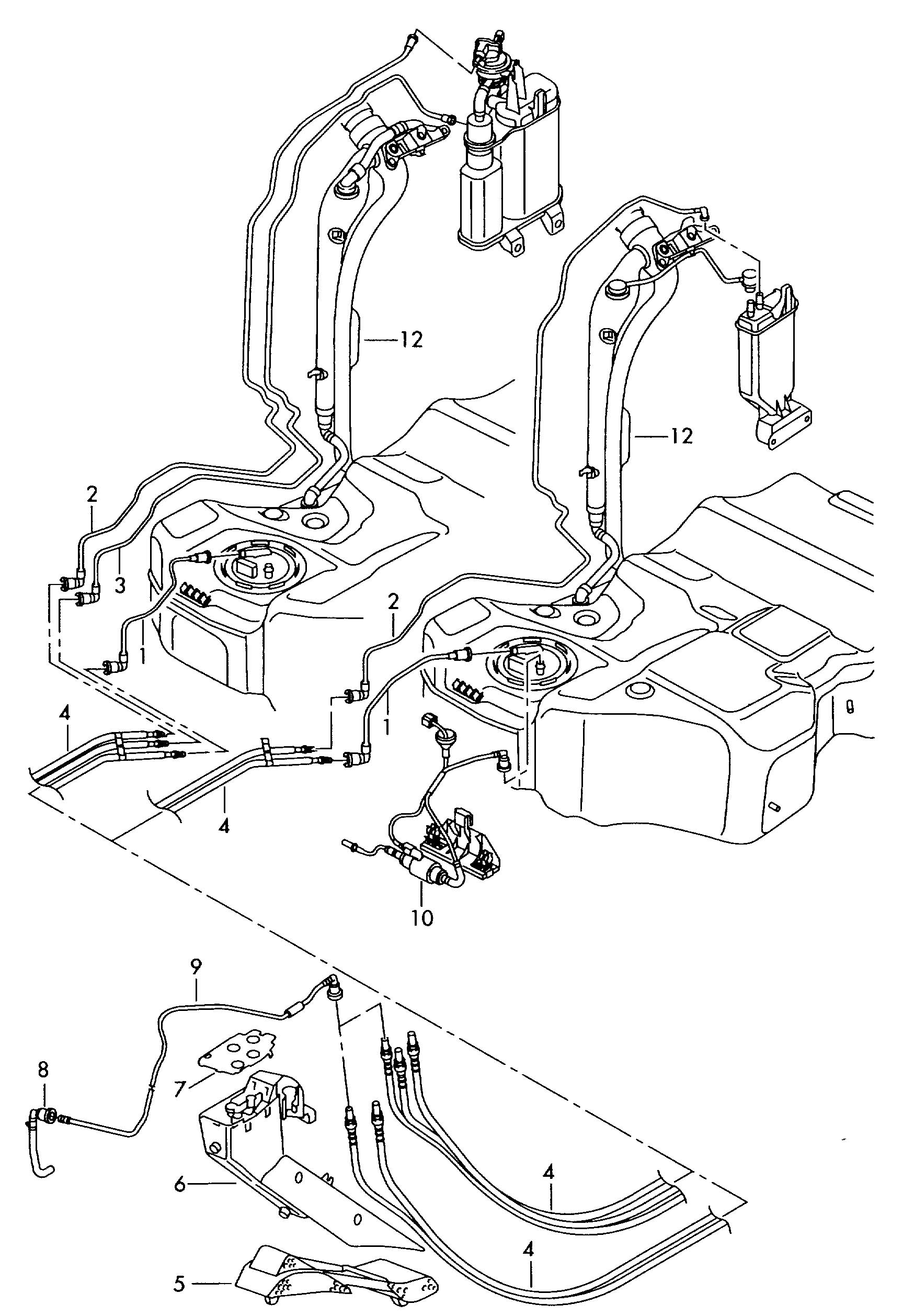 Vw Parts Fuel Lines, Vw, Free Engine Image For User Manual