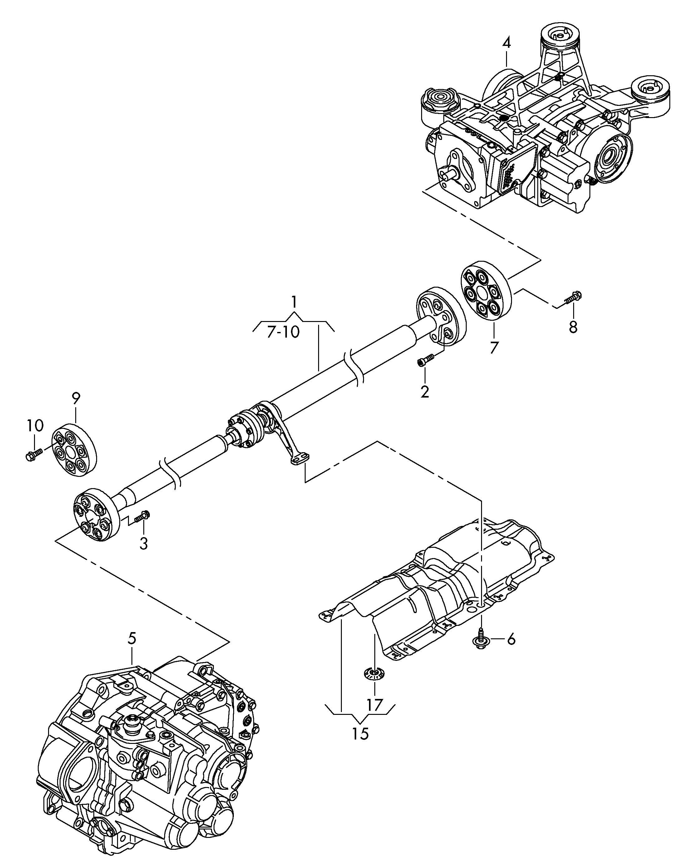 Volkswagen Propeller shaft