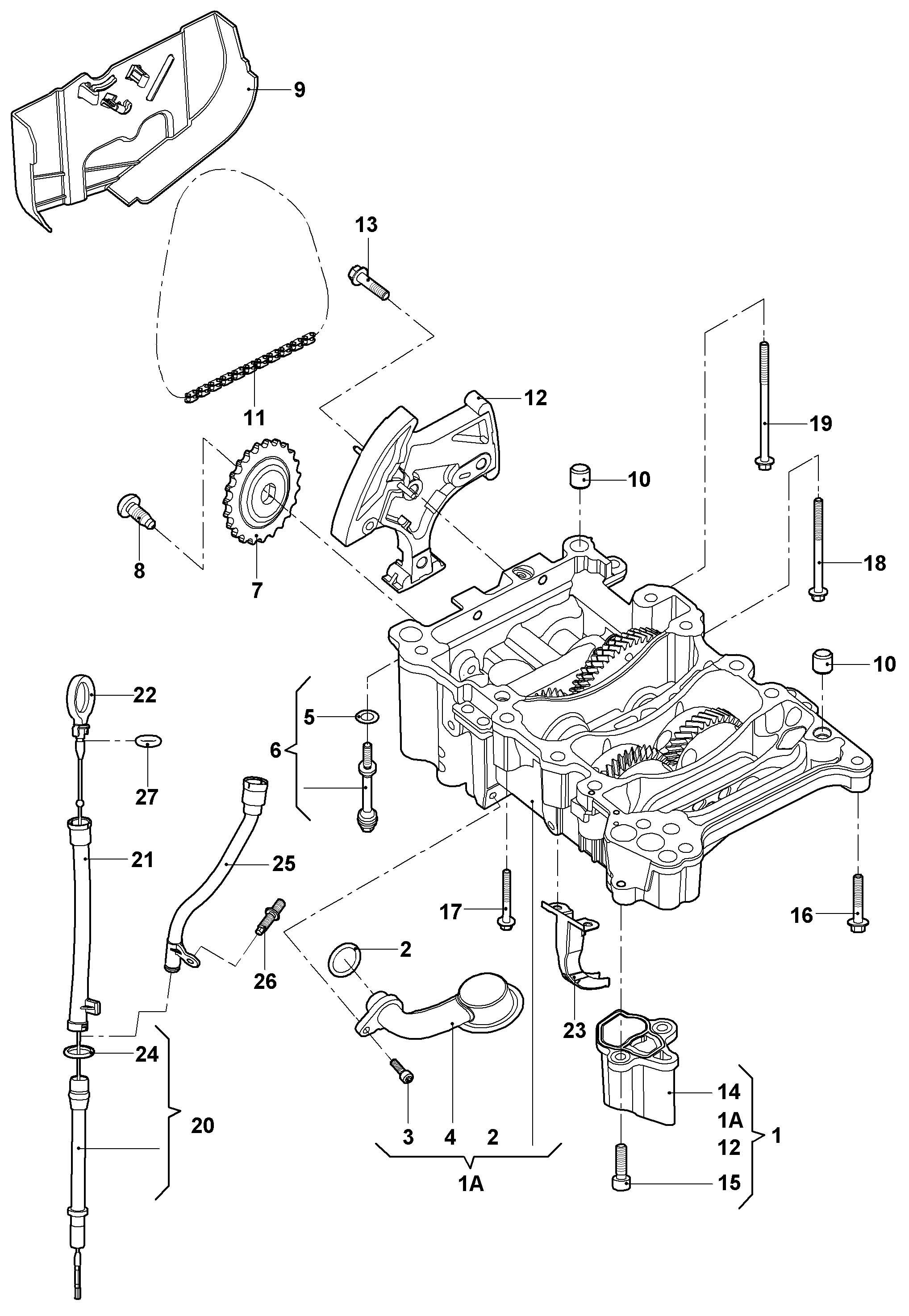 Volkswagen Jetta Suction Pipe Suction Line