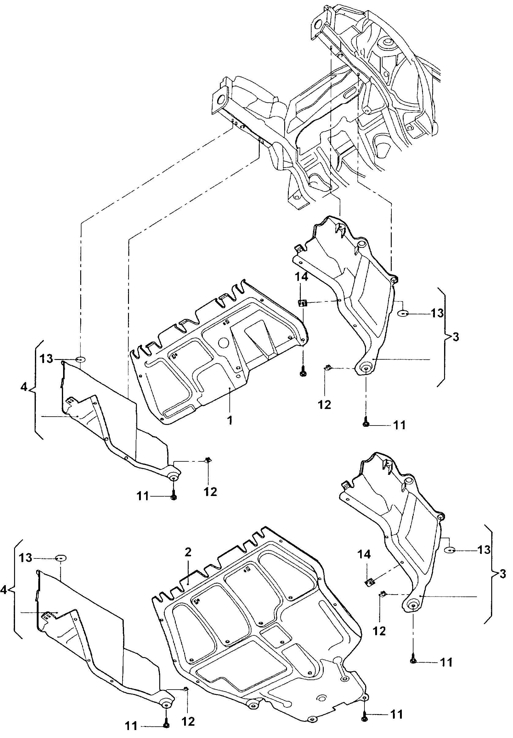 Volkswagen New Beetle Convertible Sound Baffle Contains