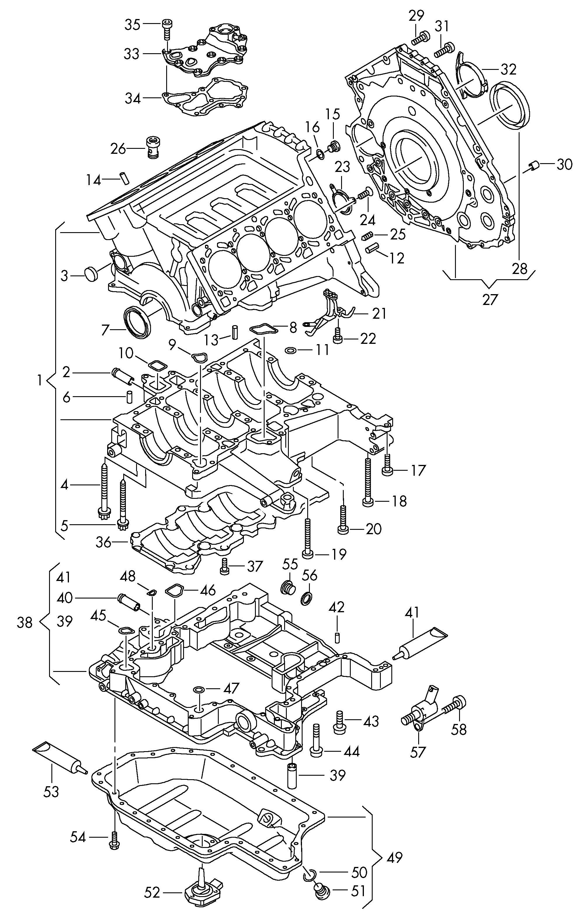 Volkswagen Jetta Seal Ring Sealing Washer