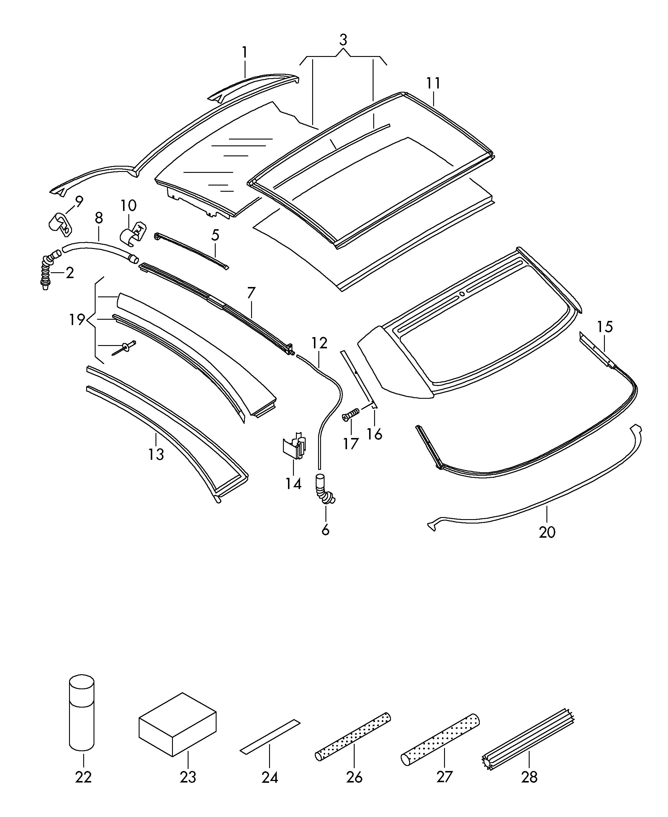 vw eos parts diagram 2004 ford f150 fx4 radio wiring fuse for 2008 library description 482871200 box
