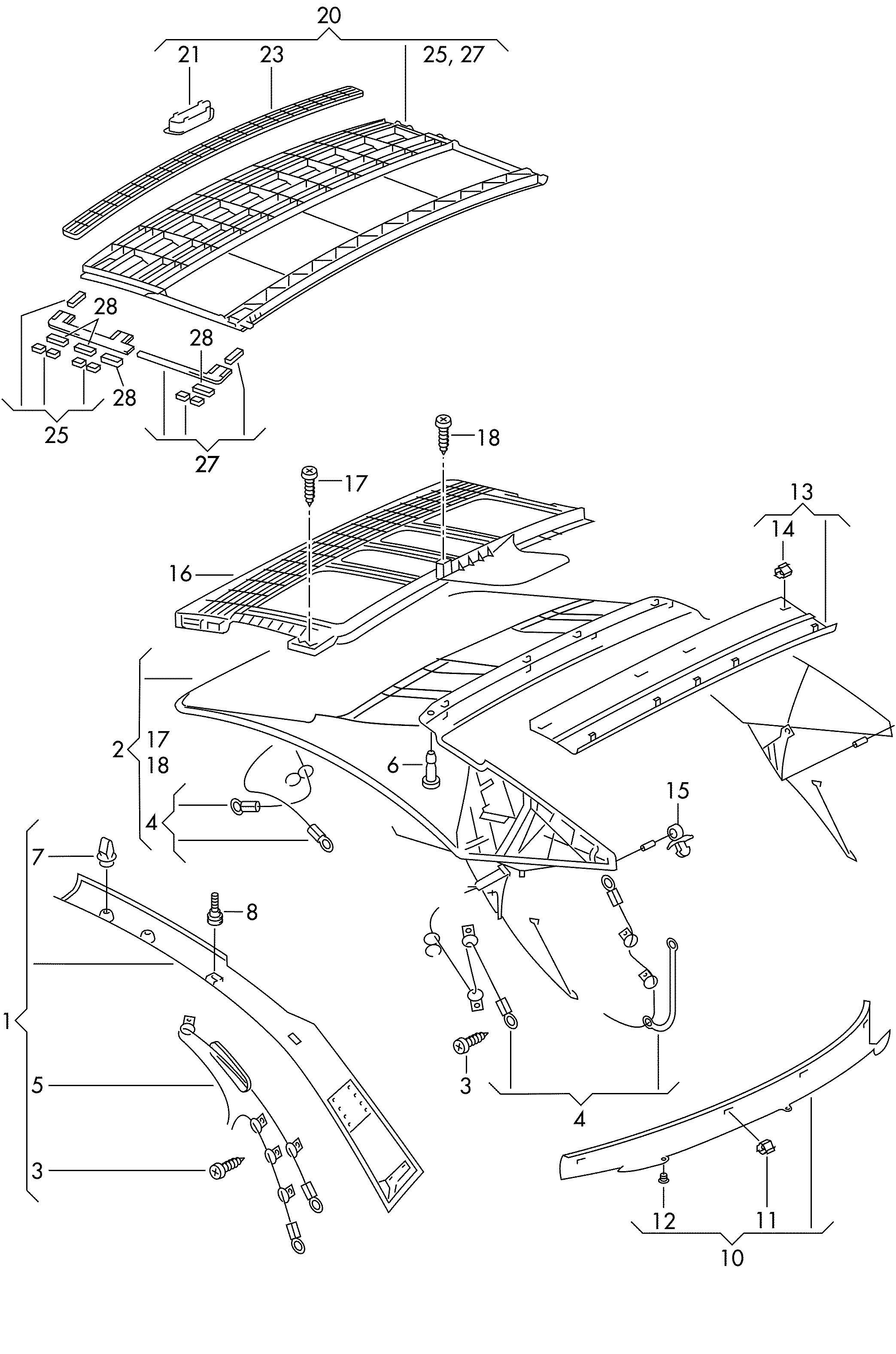 Vw New Beetle Convertible Parts Diagram. Diagram. Auto