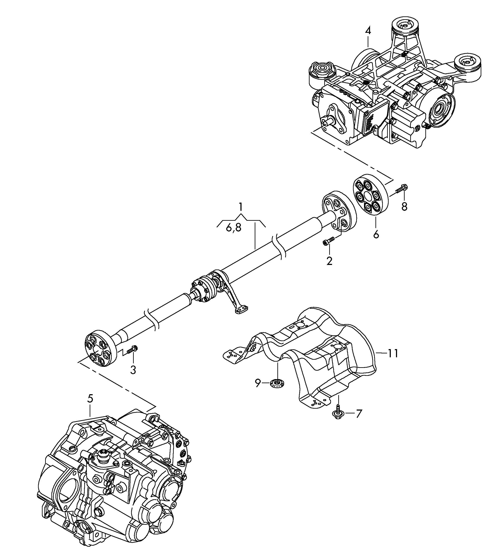 Volkswagen Gti Propeller Shaft