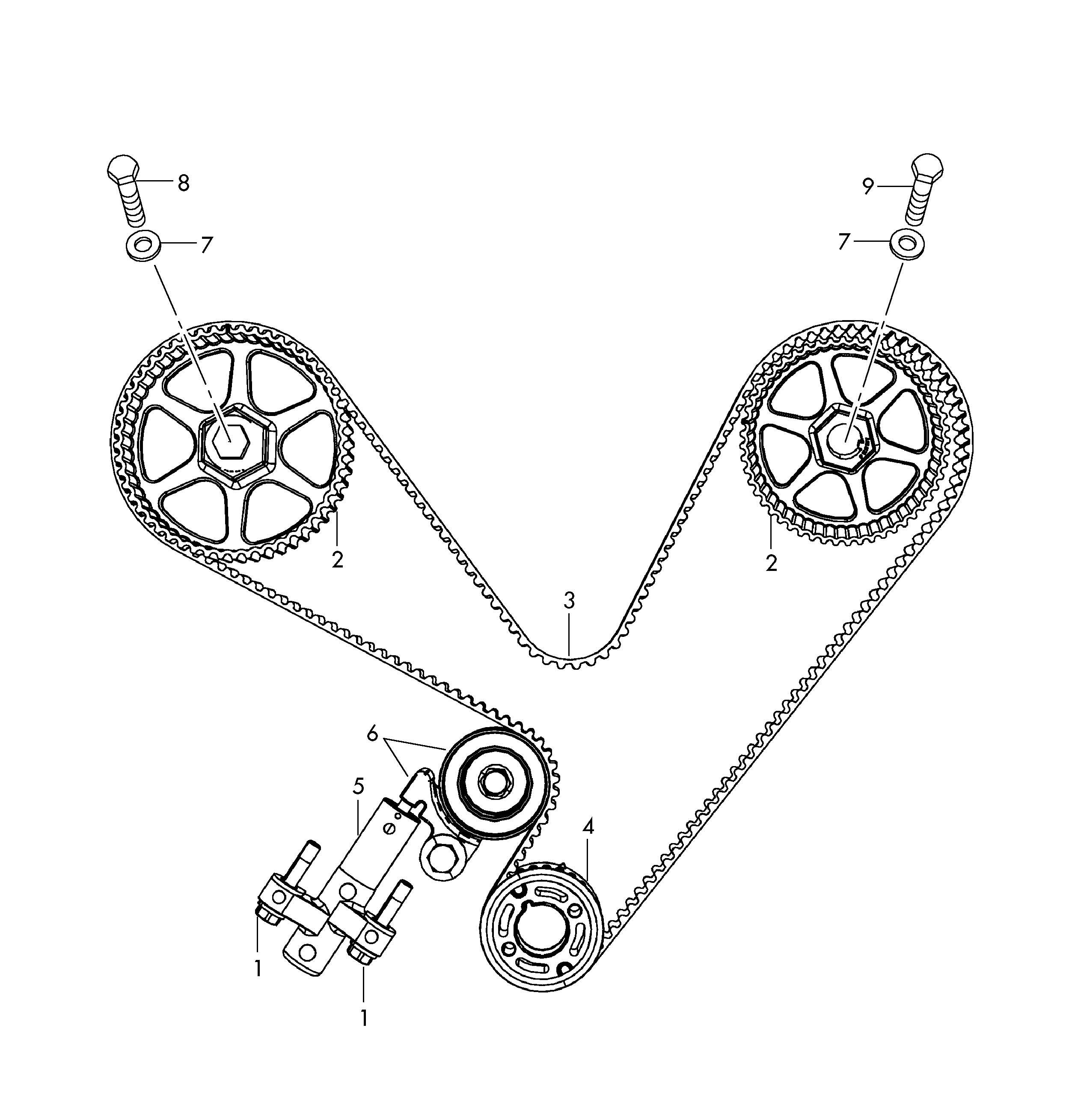 Service manual [2012 Volkswagen Routan Crankshaft Timing
