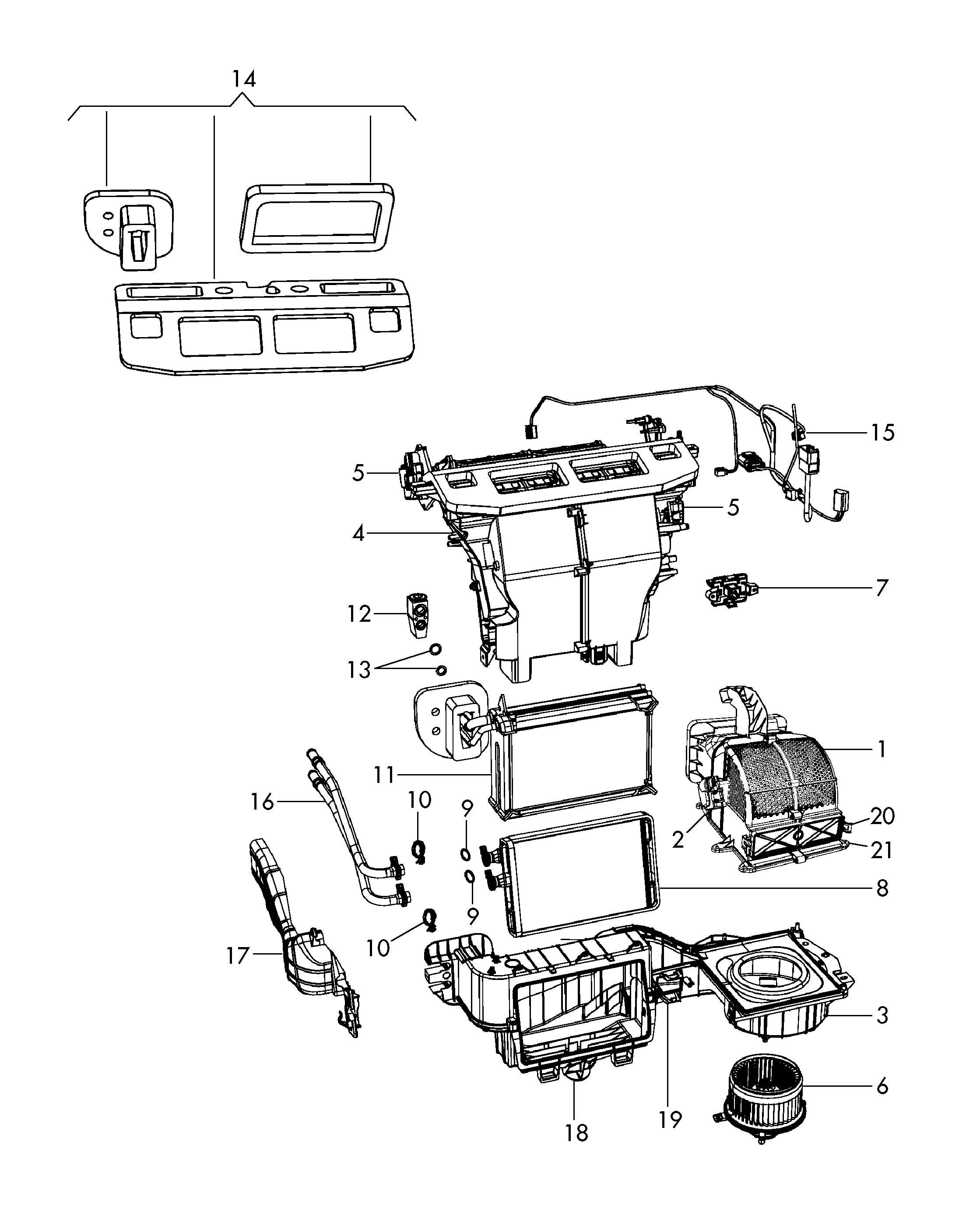Volkswagen Routan Seal Expansion Valve