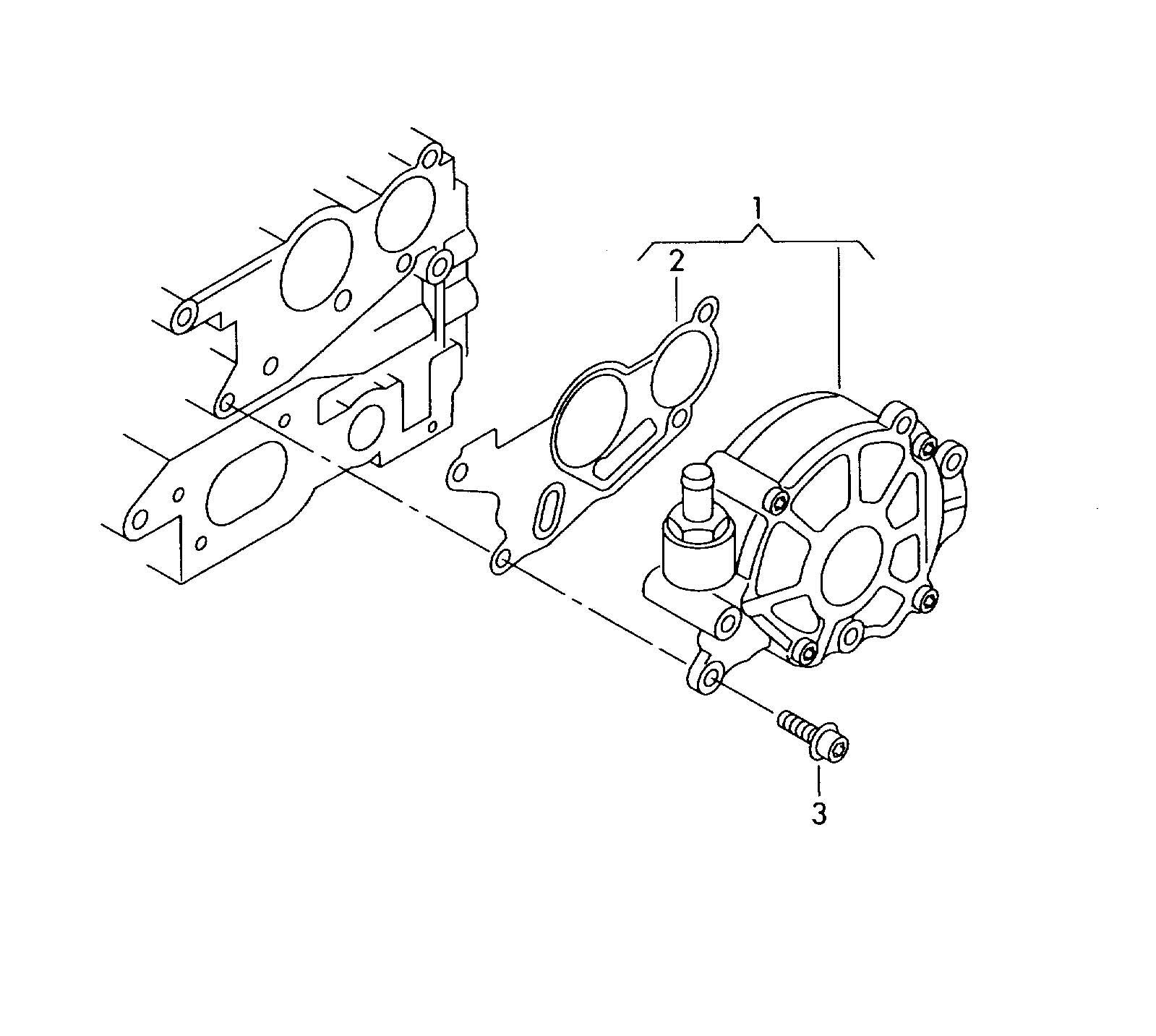 Volkswagen Tiguan Vacuum Pump Cjaa