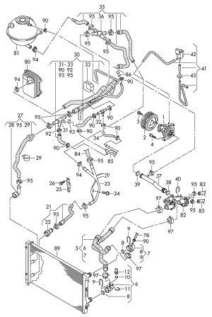 2012 Volkswagen Jetta 25L 5 Cylinder Solenoid valve ELECTRO VALVE CGEA, CGRA, CGFA