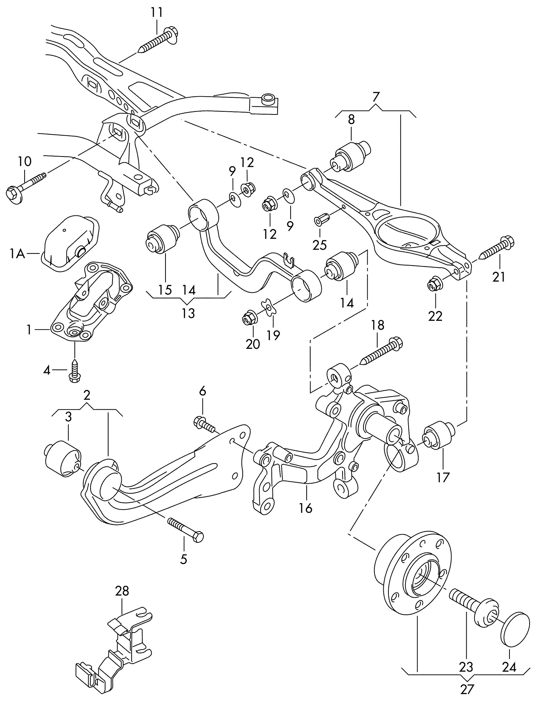 2012 Volkswagen Harness for speed bracket sensor. HARNESS