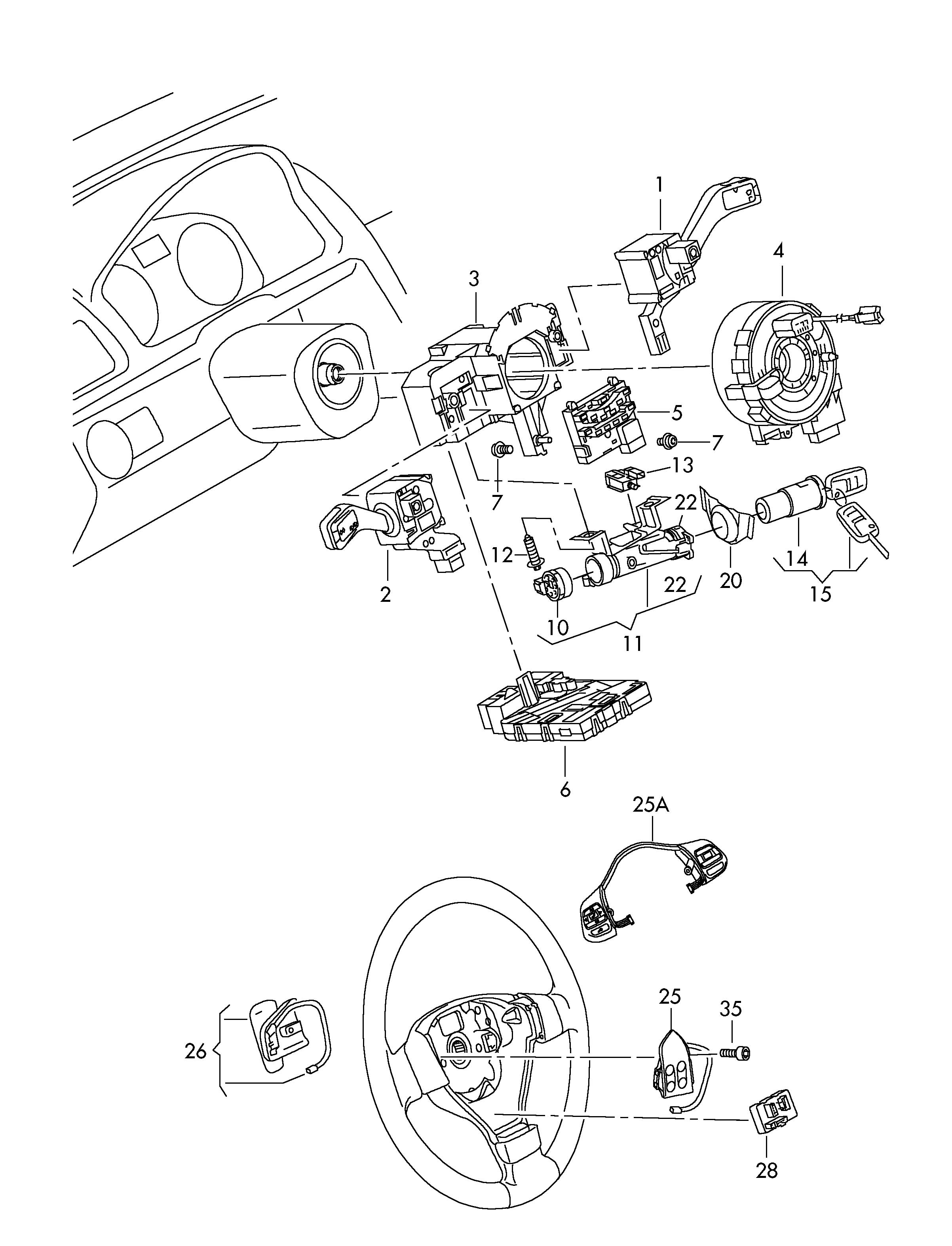 vw golf mk1 wiring diagram circuit breaker volkswagen rabbit ignition switch