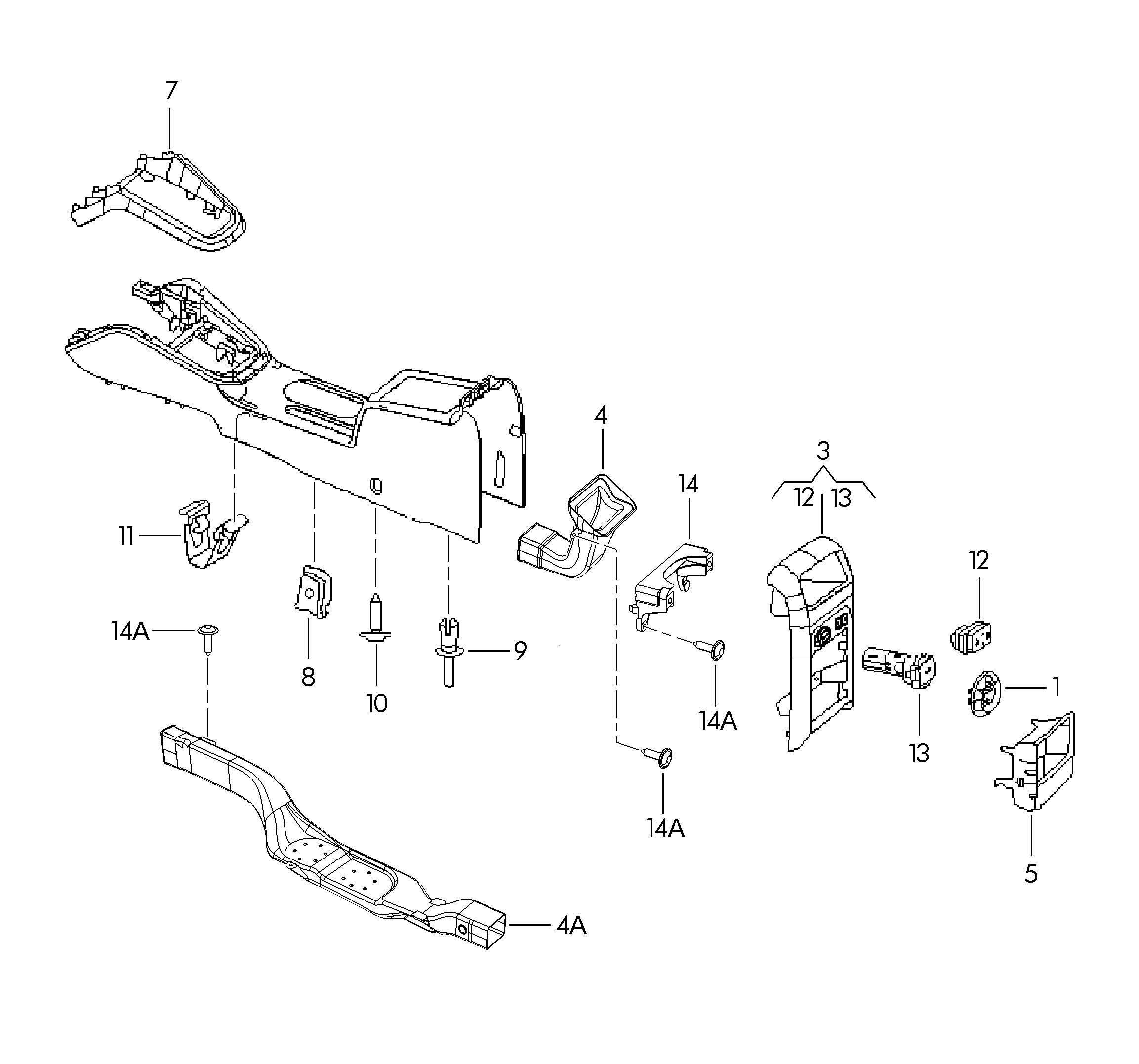Volkswagen Jetta 1 9l Tdi Clamp Clip Wrline Panelclip