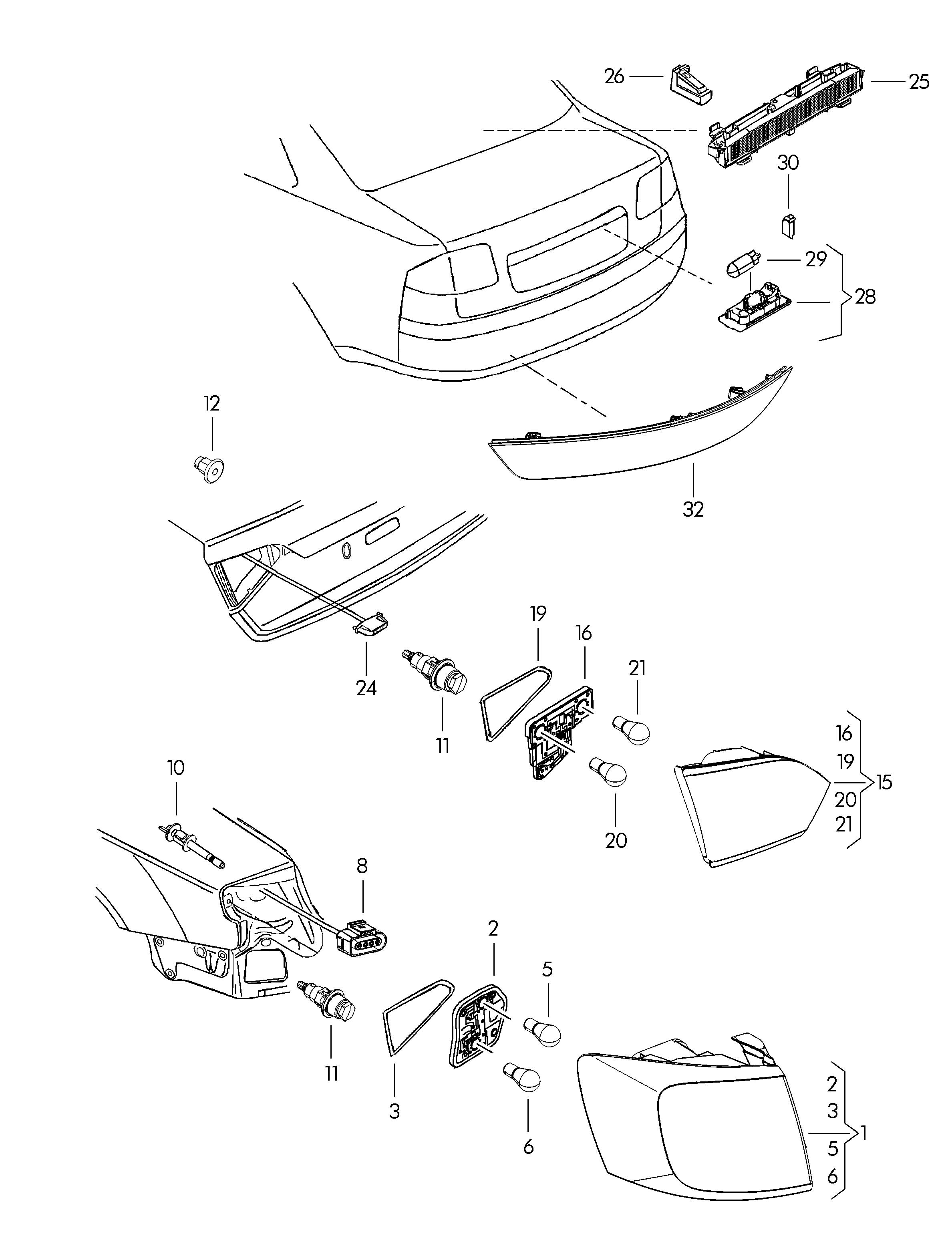 Volkswagen Jetta For vehicles without for vehicles with