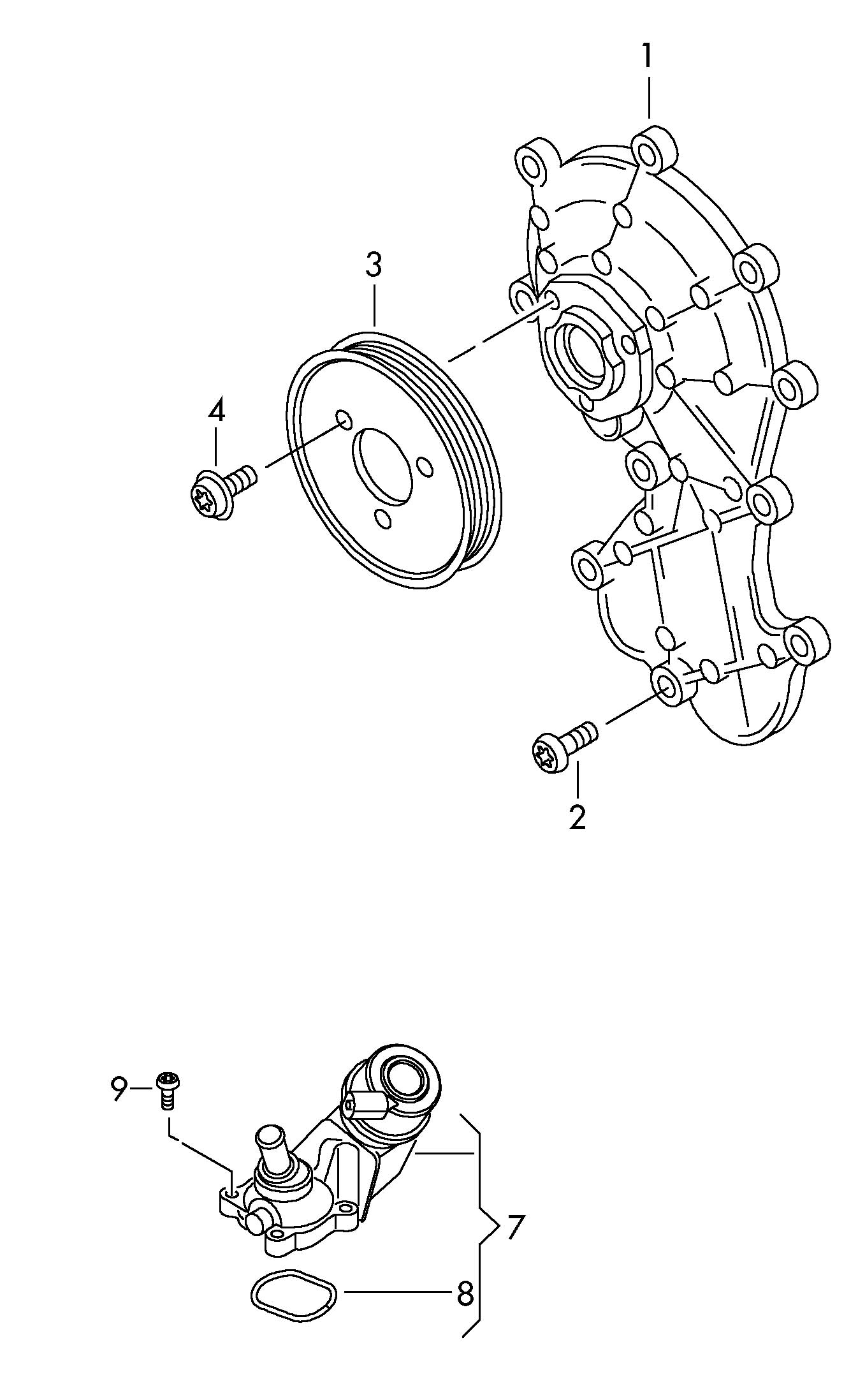 Volkswagen Touareg V Belt Pulley Vbelt