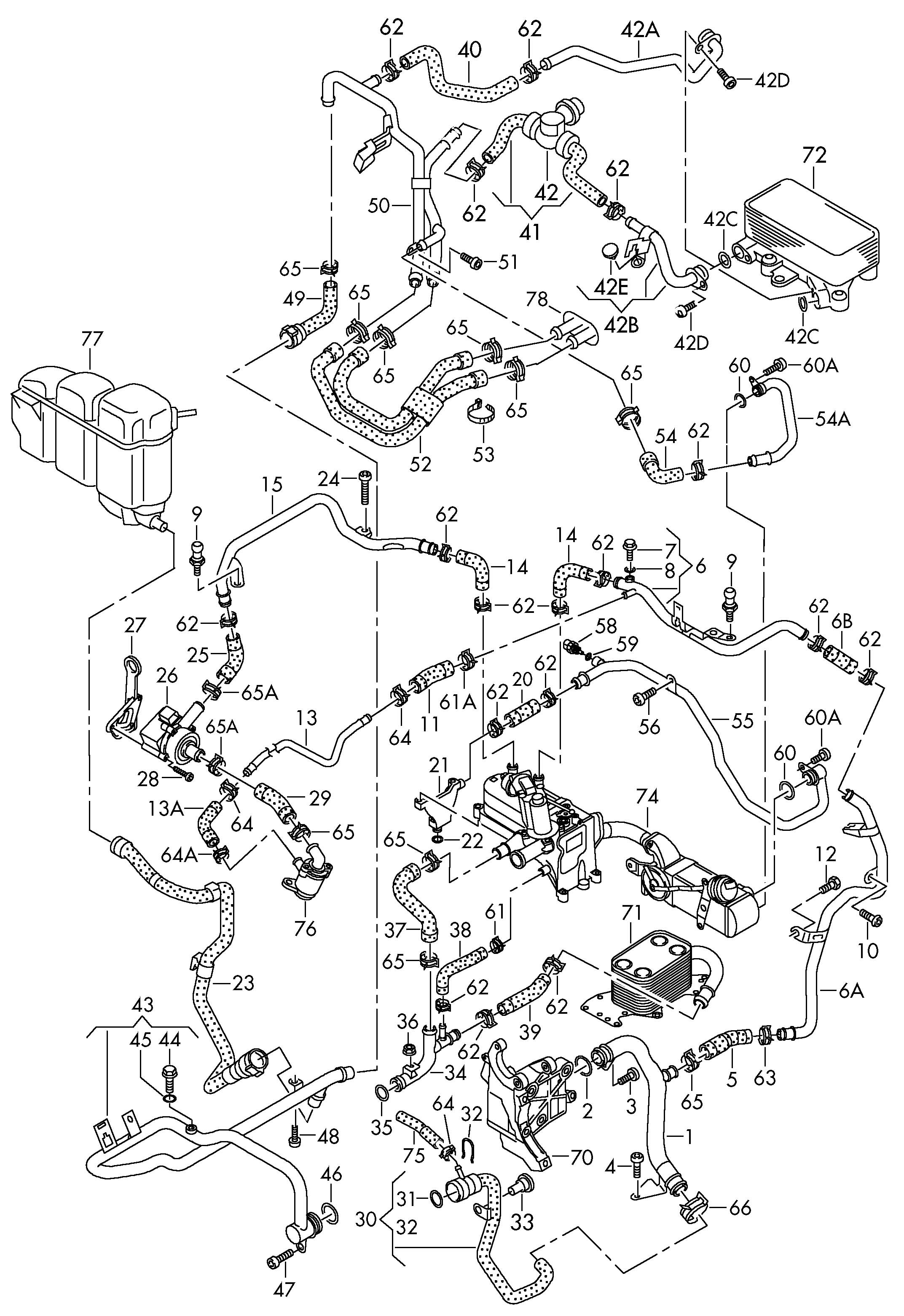 Volkswagen Touareg Heater Valve As Required Use Also Use