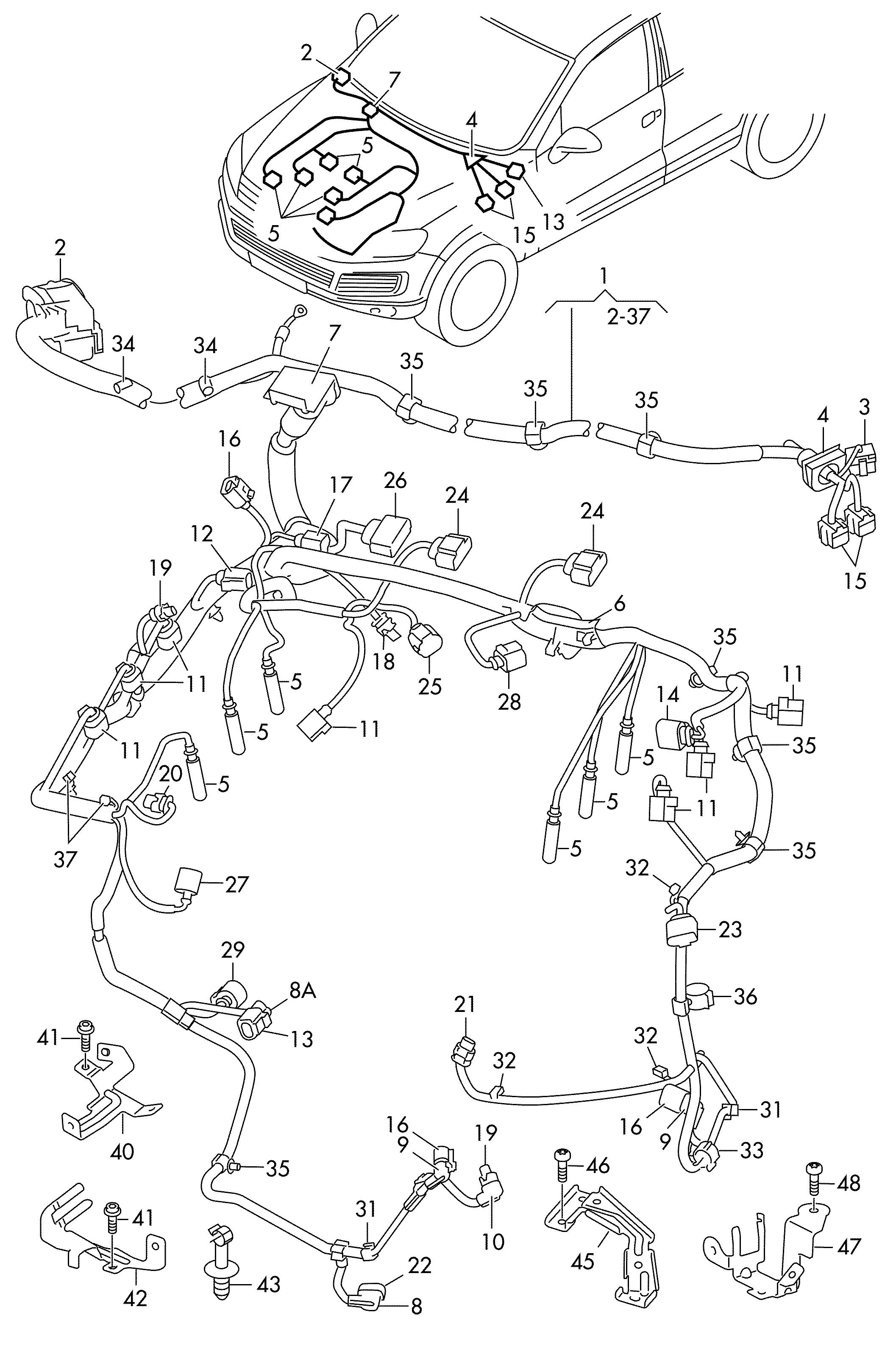 Wiring Harness 2011 Vw Routan 2011 VW Scirocco Wiring