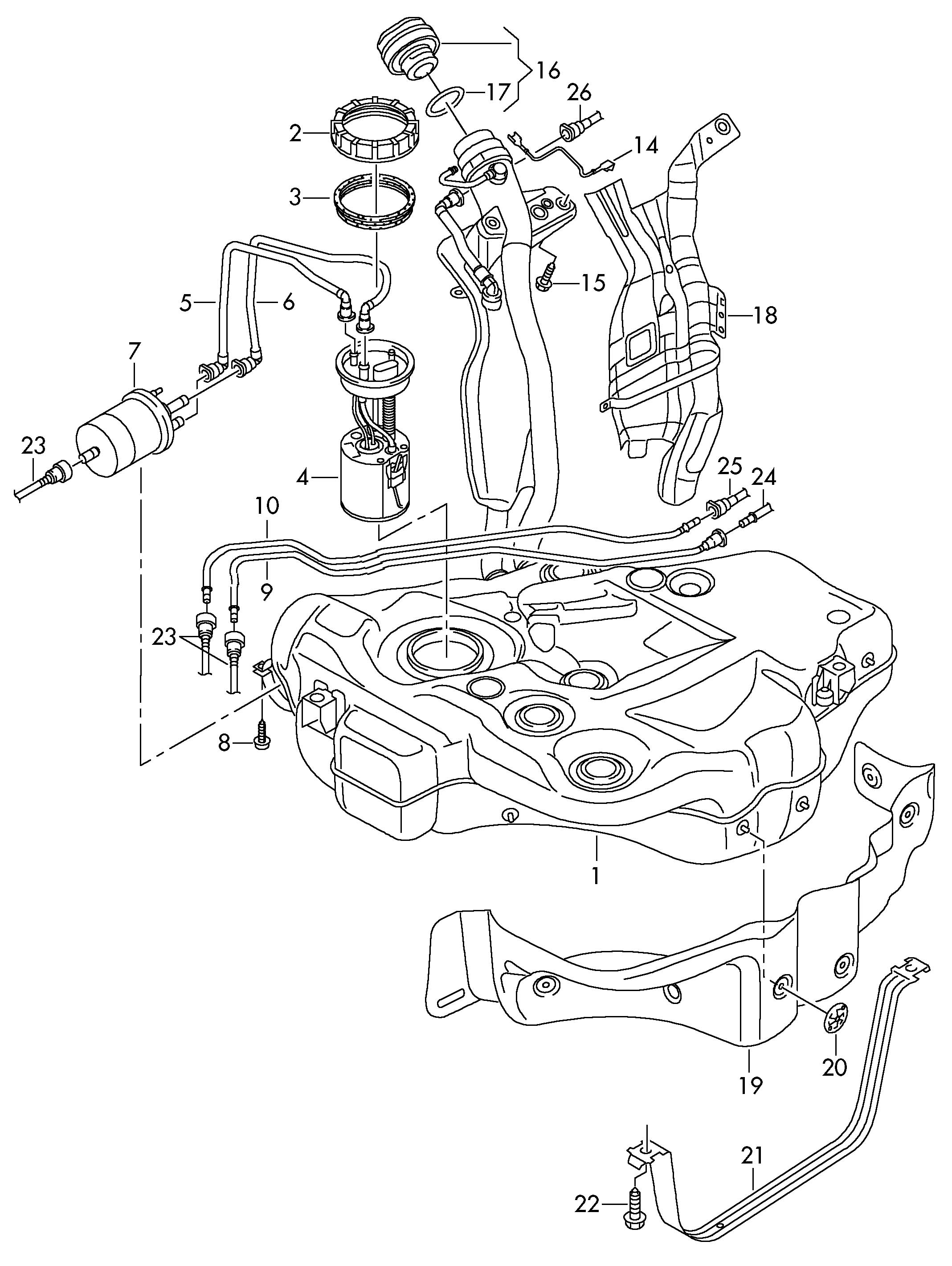 Volkswagen Rabbit Fuel Pressure Regulator, Volkswagen