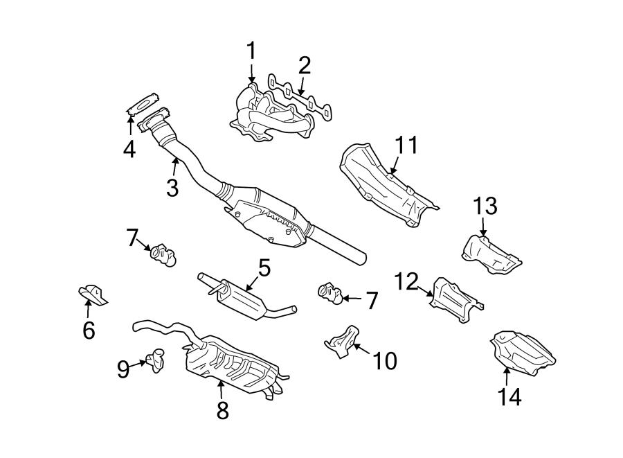 2012 Volkswagen Jetta Exhaust Manifold. Exhaust Manifold