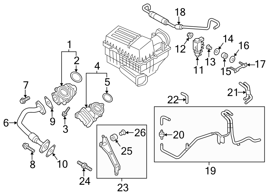2012 Volkswagen Egr valve. EXHAUST RECIRCULATIO