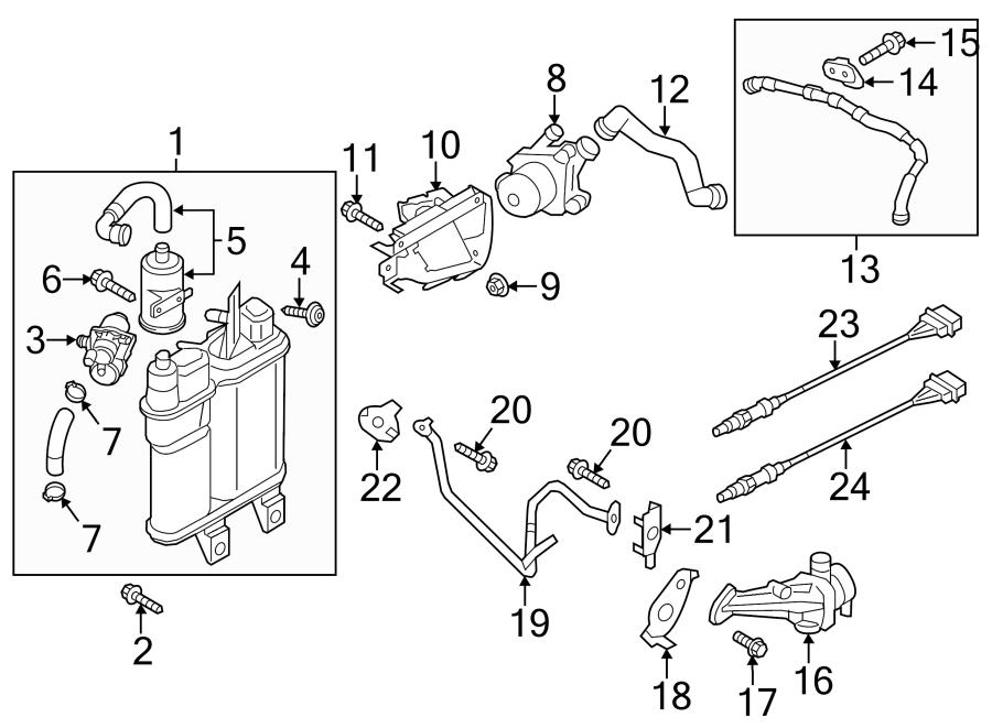 Volkswagen Touareg 3.2L 6 Cylinder Leak detection pump