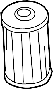 Volkswagen Jetta 2.5L 5 Cylinder Filter element. AIR