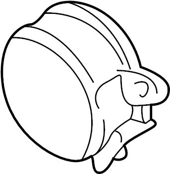 Volkswagen Jetta Cam position sensor(hall sens). HALL