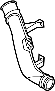 Volkswagen Jetta Air pipe. AIR TUBE. TUBE. WTURBOCHARGER