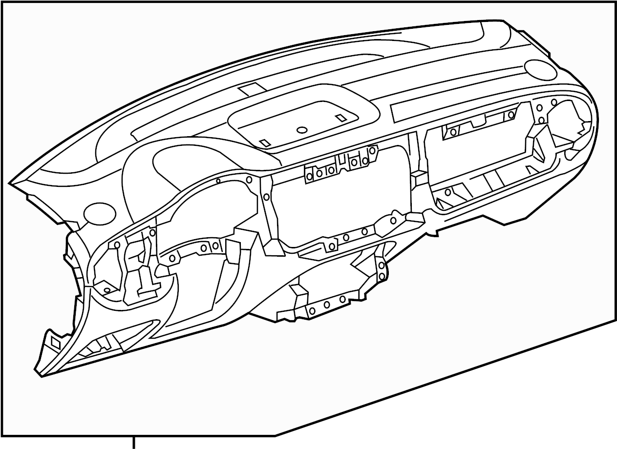 Volkswagen Beetle Dash Panel. Instrument panel. Wcomfort
