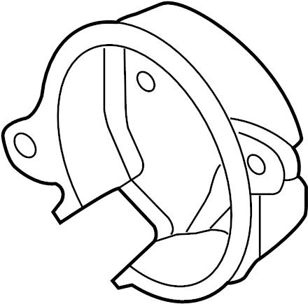 2003 Volkswagen Jetta 2.0L Camshaft cam position sensor