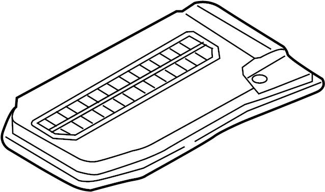 2011 Volkswagen Touareg Battery box battery battery mounting