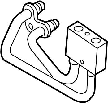 Volkswagen Tiguan Oil temperatur valve. OIL TEMP REGULATOR