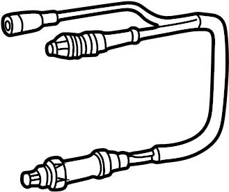 Volkswagen EuroVan Sensor, Oxygen (O2). LABDA PROBE. OXS