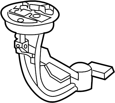 2003 Volkswagen Passat 1.8L Turbo Fuel gauge sender