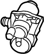 2012 Volkswagen Jetta Leak detection pump. DIAGNOSIS PUMP