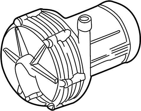 Volkswagen EuroVan 2.5L 5 Cylinder Secondary air pump
