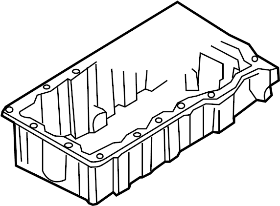 Cylinder block cylinder block with pistons oil pan oil pan