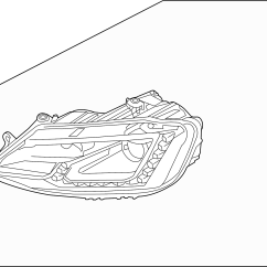 94 Vw Jetta Parts Diagram Buck Boost Transformer Wiring Volkswagen Headlamp Assy Headlight Assembly