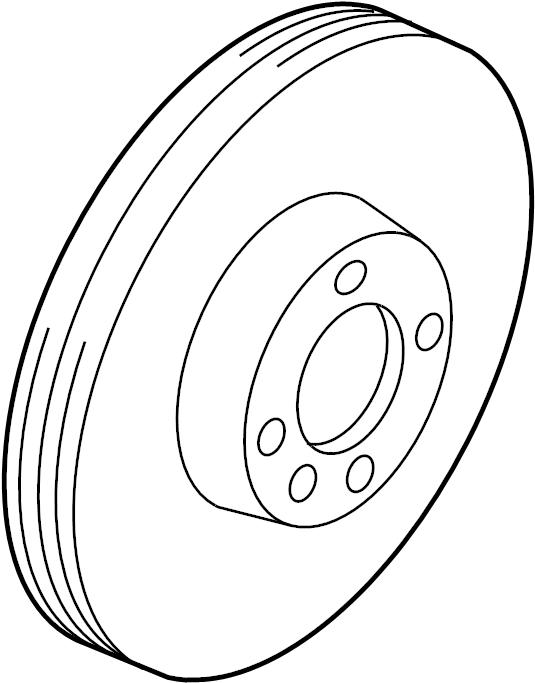1963 Volkswagen Ghia Rotor, Brake. BRAKE ROTOR. ROTOR