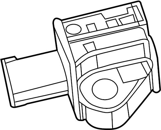 Volkswagen Routan Rear panel pillar b acceleration sensor location:. Shell, Clockspring