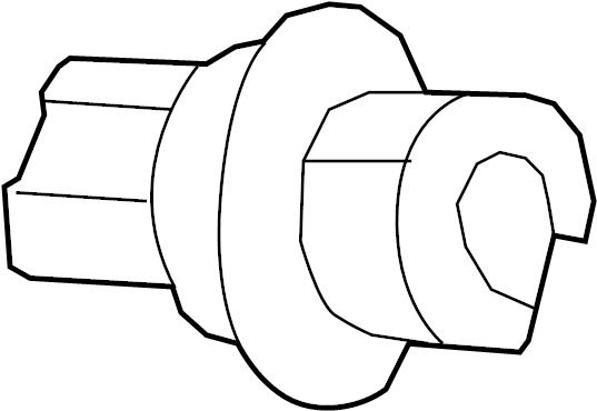 Volkswagen Routan Bulb socket brake, turn signal and turn