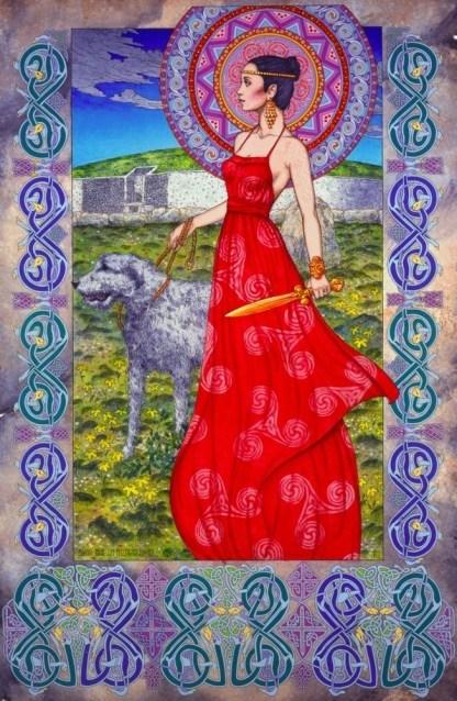 Prints, Irish, Ireland, Myth, IrishArt, CelticArt, Celtic, Mythology, Art, CelticMythology, JimFitzPatrick, theBookofConquests,