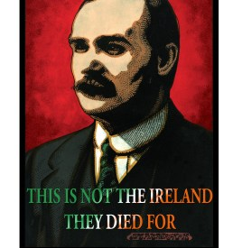 James Connolly Irish Revolutionary Free Poster Revolution Now