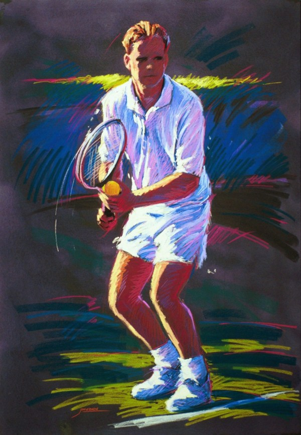 Sports Paintings - Jim Grady Art