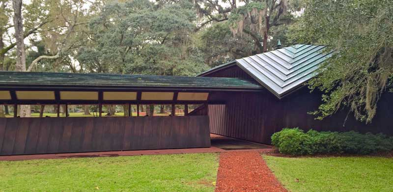 Auldbrass by Frank Lloyd Wright in South Carolina