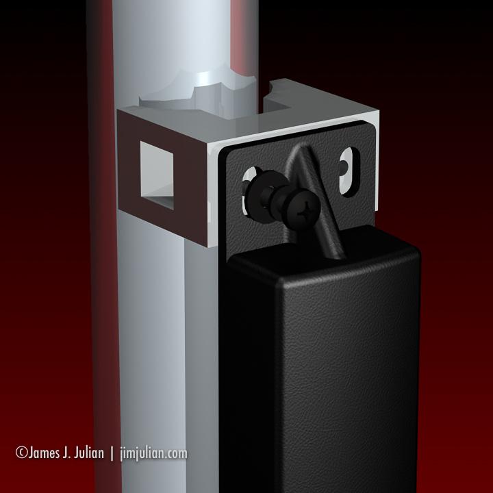 E-ZPass Bracket System Duo Close-up
